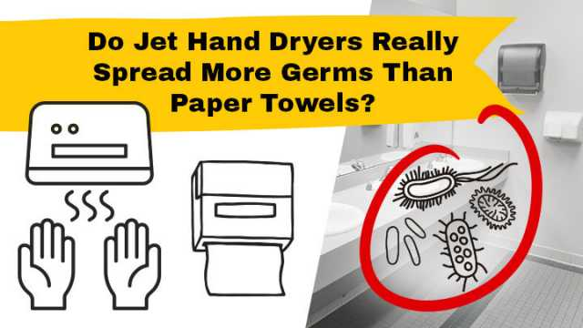 Bacteria Spread By Hand Air Dryers Vs Paper Towels Science - Bathroom hand dryer germs