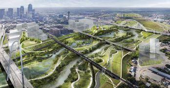 Massive urban park coming to Dallas (Courtesy of Michael Van Valkenburgh Associates)