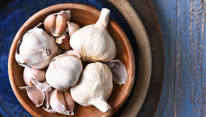Natural bronchitis remedy garlic