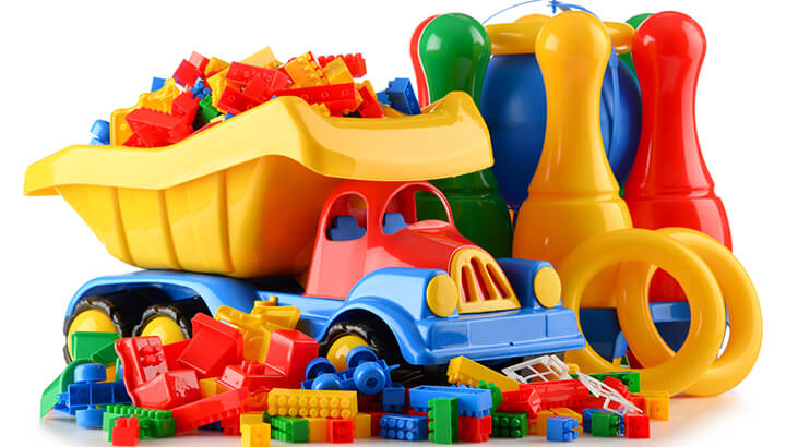 Recycling rules about plastic toys