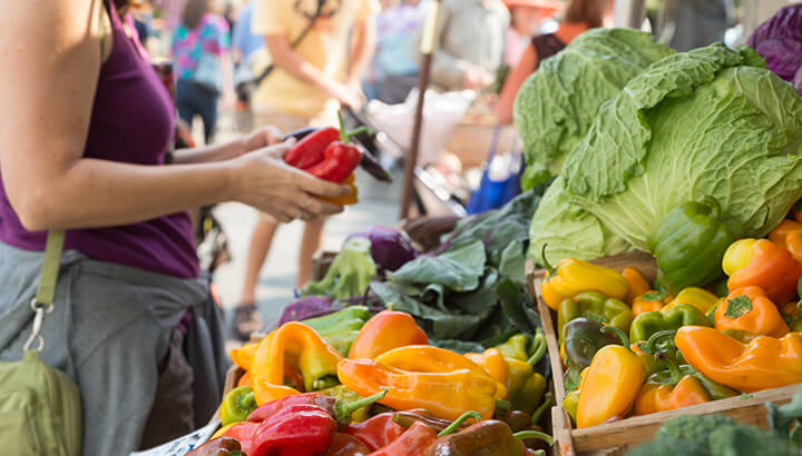 Shopping local can help to reduce your carbon footprint and climate change
