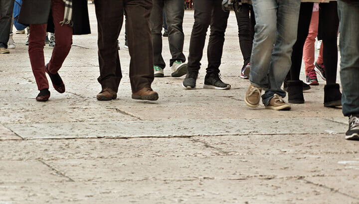 Sidewalks improve physical fitness