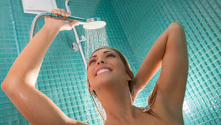A cold water shower can increase your happiness