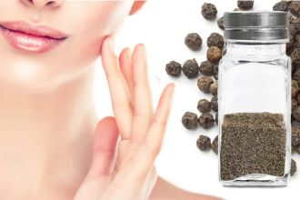 Black pepper can improve skin