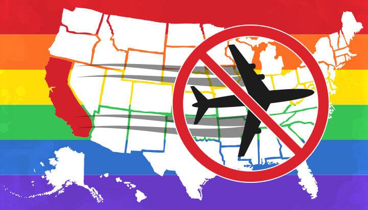 California bans travel to anti-lgbt states