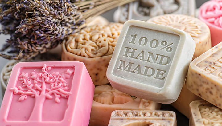 Natural soap is a healthy alternative to antibacterial soap