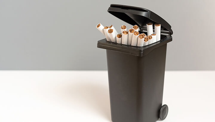 Quitting smoking can help prevent lung cancer