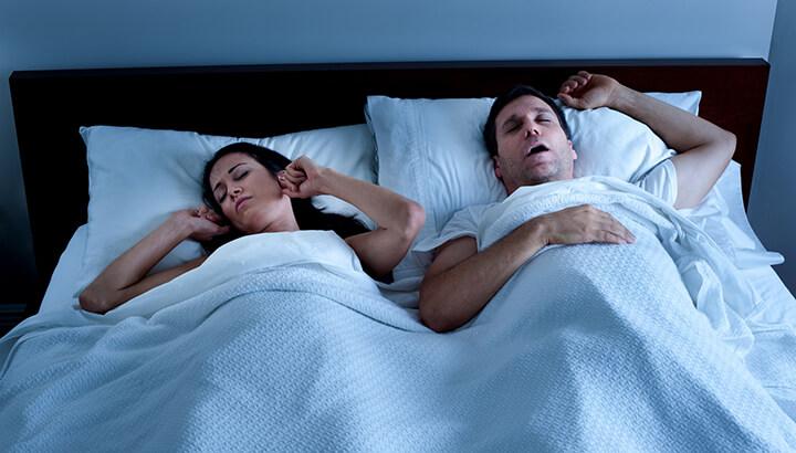 Saliva can change when you have sleep apnea