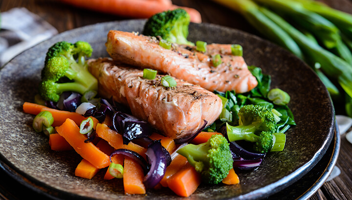 Salmon can change the way urine smells