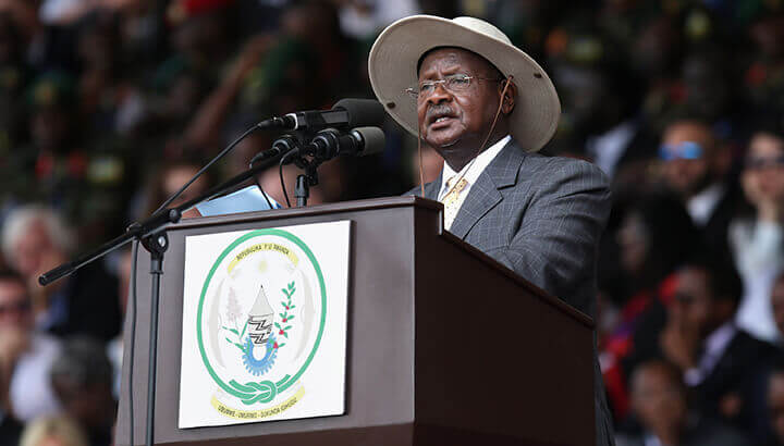 Yoweri Museveni leadership lead to genocide in Uganda