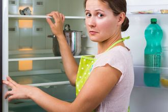 Cleaning behind your refrigerator can prevent health issues