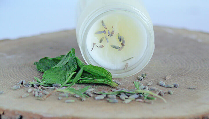 If your muscles are aching, this coconut oil muscle balm will help
