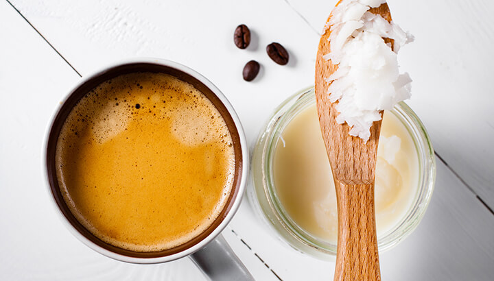 Coconut oil challenge bulletproof coffee