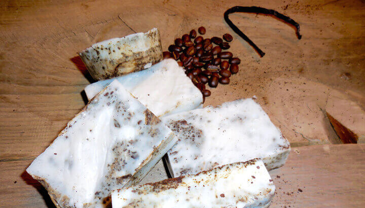 Try a homemade soap with coconut oil to nourish your skin. (Photo Courtesy: Leilani Hampton)