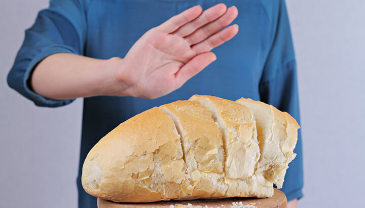 Cutting out gluten can help reduce inflammation and depression.