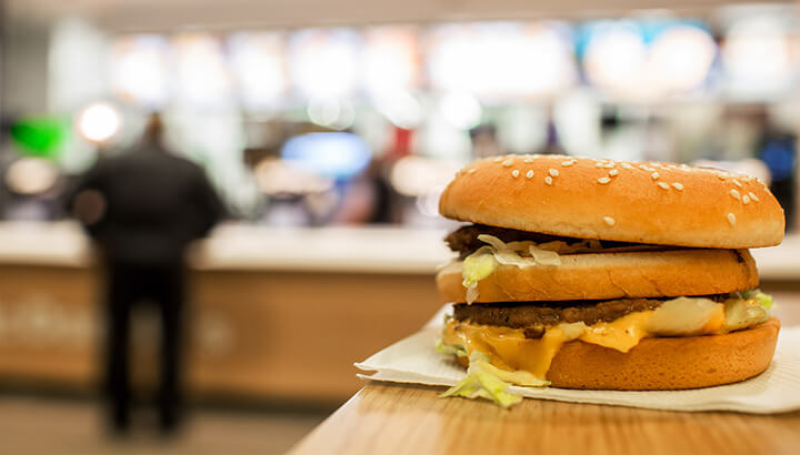 Fast food wrappers may contain chemicals harmful to your health.