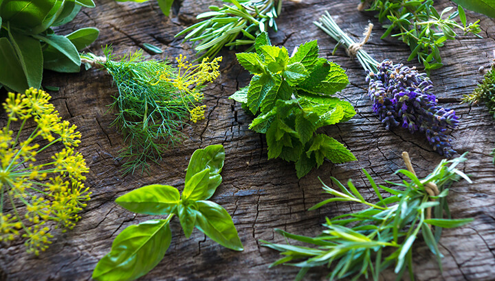 Herbal remedies can help support your hair.
