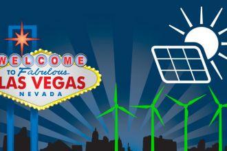 Las Vegas runs on renewable energy