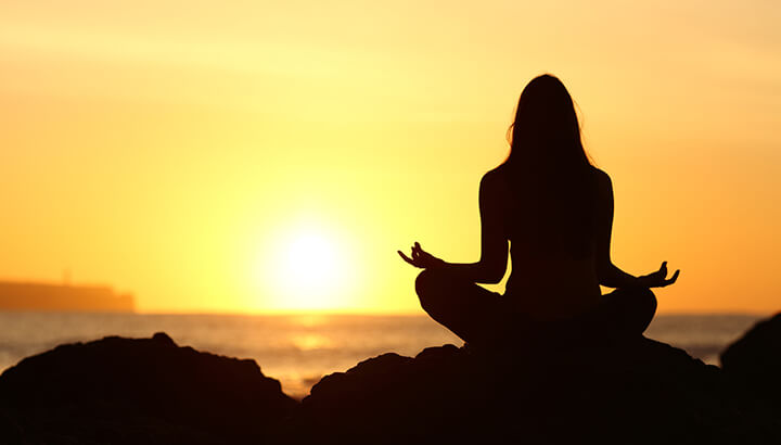 Meditation is an effective way to lower stress, combat inflammation and soothe depression.