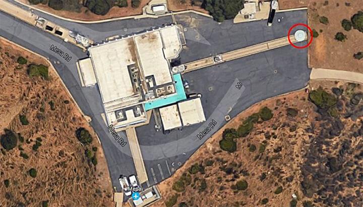 People think this UFO at JPL belongs to aliens