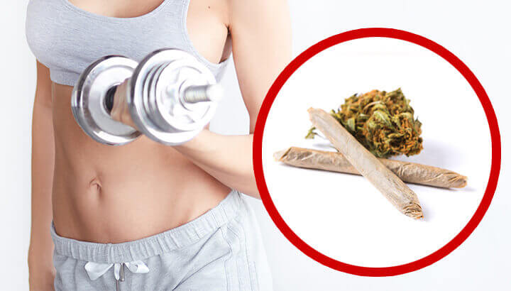 Reasons to smoke marijuana before a workout