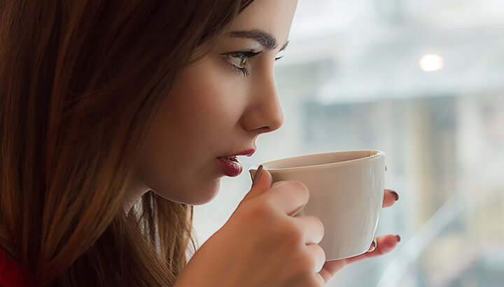 Researchers have found a link between lower inflammation and caffeine consumption.