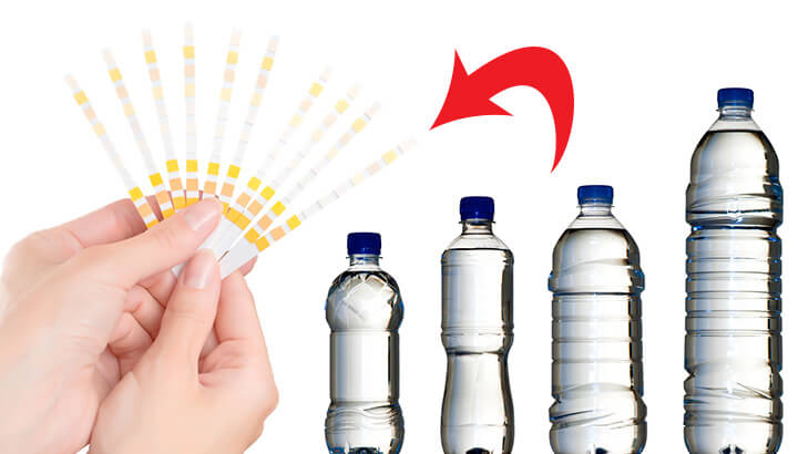 See how acidic your bottled water is