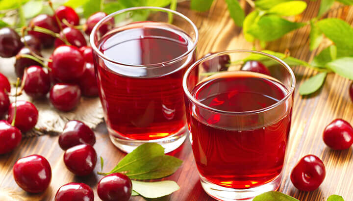 Tart cherry juice can help with insomnia