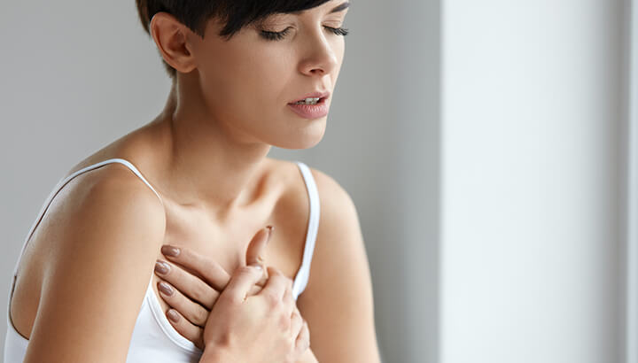 The more signs and symptoms you have, the more likely you're experiencing a heart attack.