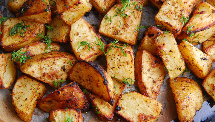 The acrylamide in some foods, like potatoes, has been linked to increased cancer risk.