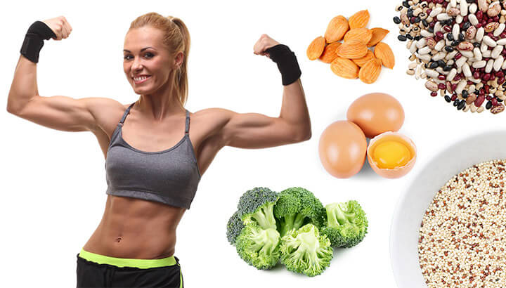 how to burn fat and build muscle with food