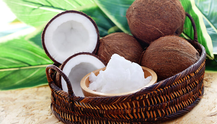 Coconut oil can be used in and around your eyes.
