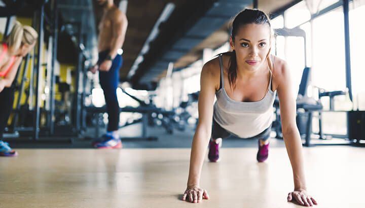 Eating healthy sources of protein and strength training can help you build muscle.