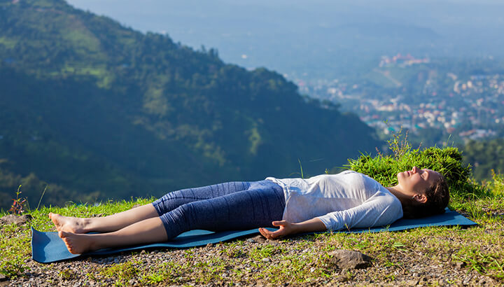 Find a quiet spot to align your chakras.