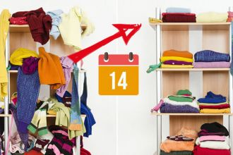 How to declutter your home in 14 days