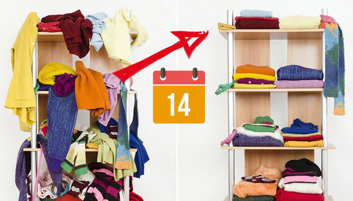 how to declutter your home for better health in just 14 days