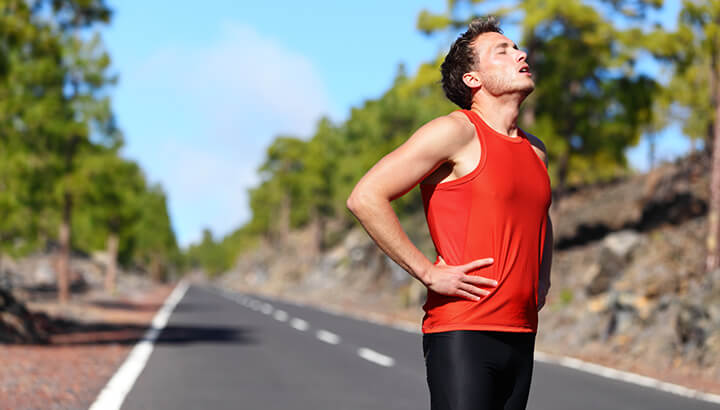 Improper breathing can make exercise more difficult.