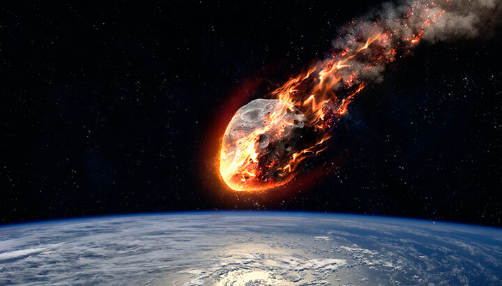 Space events typically impact the earth once every 26 million years.