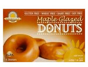 Kinnikinnick Gluten-Free Maple Glazed Donuts