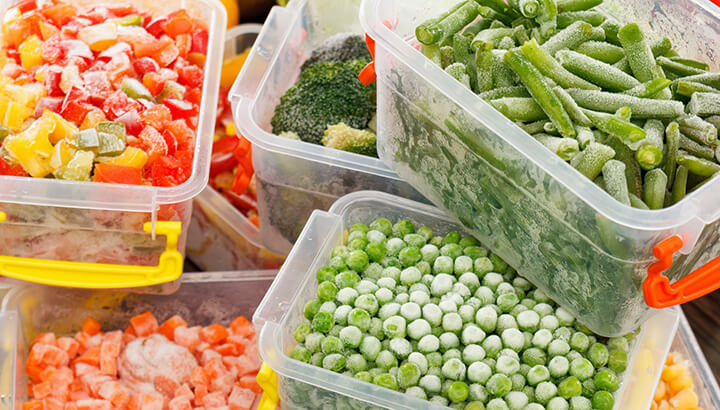 Plastic containers may leach chemicals into your food.