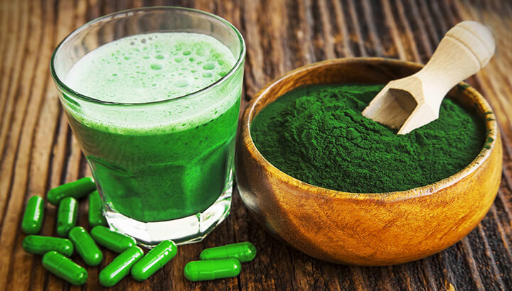 Spirulina comes in powder or tablet form.