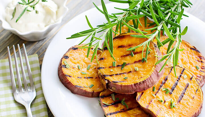 Sweet potatoes contain vitamin A, which improves immune system function.