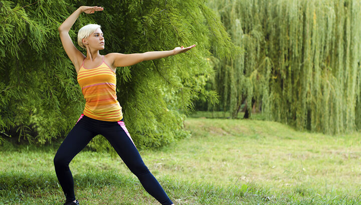 Tai chi and other activities can help reduce stress to improve physical and mental health.