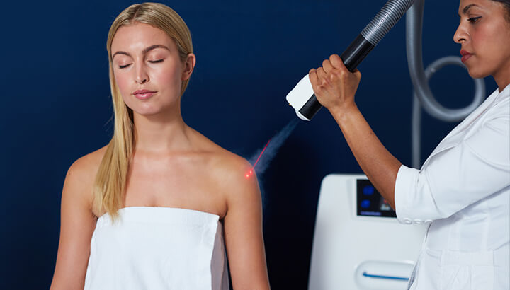 There is no evidence that cryotherapy works.