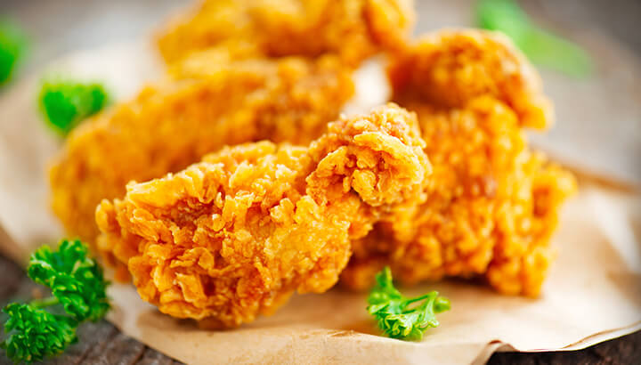An air fryer uses 80 percent less fat than traditional methods.