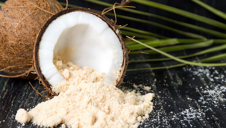 Coconut sugar has a lower glycemic index than refined sugar.