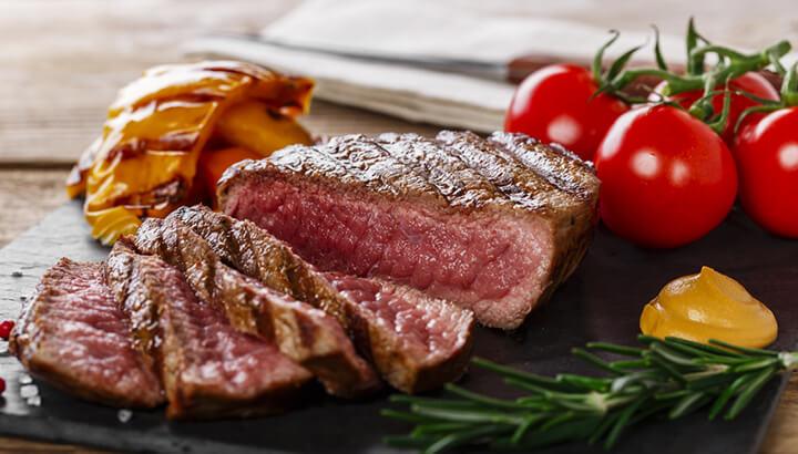 Eat organic, free-range meat for better health.