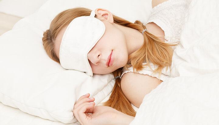 Essential oils in a diffuser can help you sleep better.
