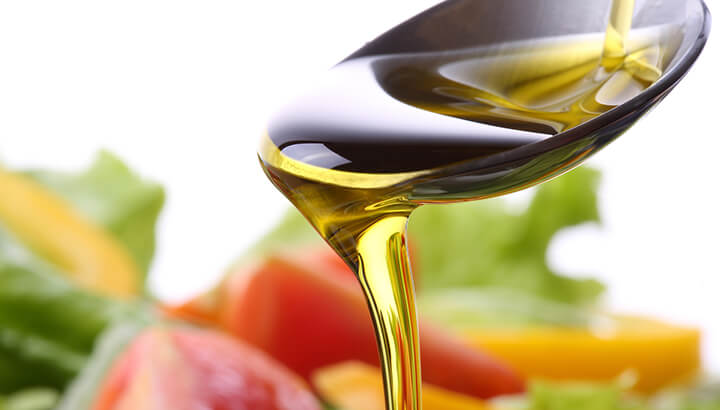 For chronic pain, olive oil has properties similar to ibuprofen.