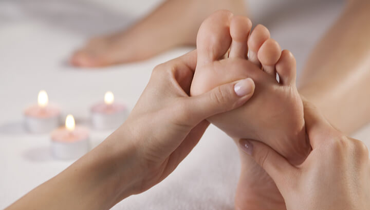 Getting a massage is a great way to keep your feet happy and healthy